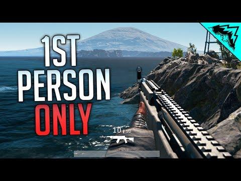 FIRST PERSON ONLY - PlayerUnknown's Battlegrounds Gameplay LIVE (PUBG Livestream)