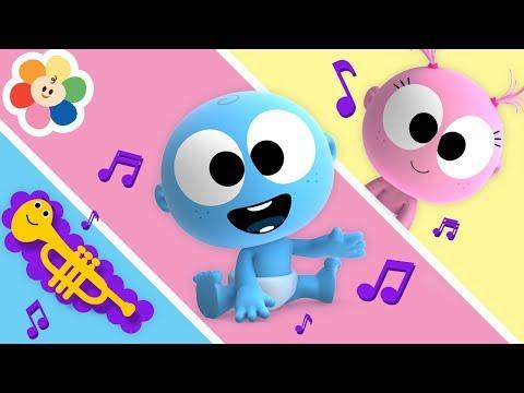 Bebés Graciosos - Googoo y Gaagaa | Sonidos de Musica Clasica Para Niños | BabyFirst Español