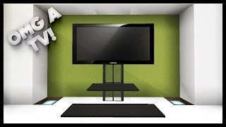 Minecraft - How To Make A TV(Minecraft - How To Make A TV! Today I'm going to be showing how to make a nice and easy Minecraft TV in Minecraft. This version of a Minecraft TV will look ..., 2016-02-06T18:04:19.000Z)
