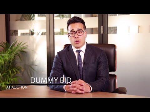 Auction Series - Dummy Bid