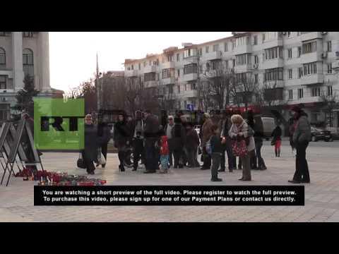 Ukraine: Simferopol mourns fallen Crimean officers killed in Kiev