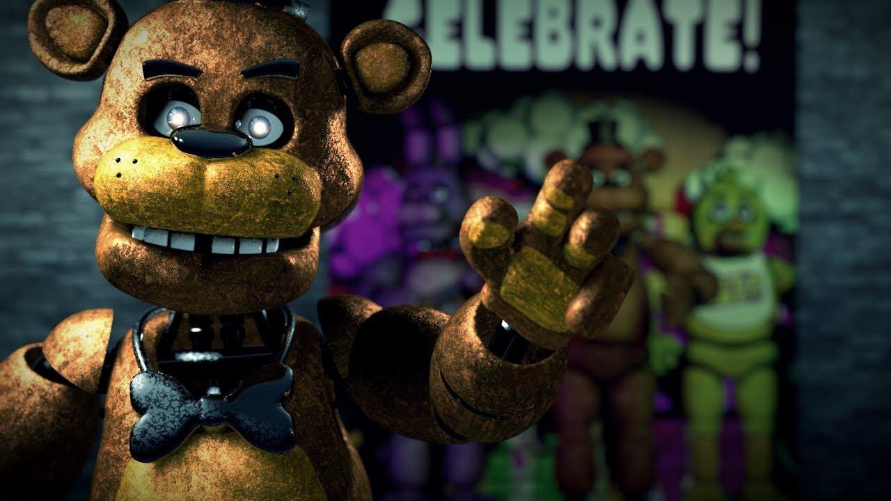 Freddy Fazbear AR Voice Lines Animated