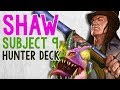 WE PUT SHAW IN OUR SUBJECT 9 DECK!! | Constructed | The Boomsday Project | Hearthstone