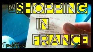#39 Дальнобой по Европе. Закупка едой. Цены во Франции. Леклерк | Илья Дальнобой