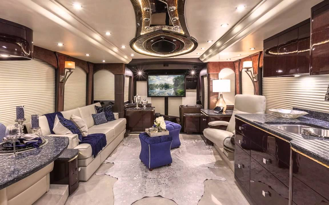 2015 millennium prevost h3 45 s4 10090 youtube for Million dollar motor coaches