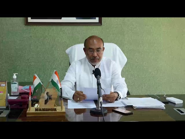 Manipur Chief Minister N. Biren Singh announces a reward of Rs. 35 lakh to the medical team