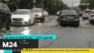 Почти треть месячной нормы осадков может выпасть в Москве в четверг - Москва 24