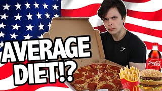 I Followed The Average American Diet (How Bad Is It?)