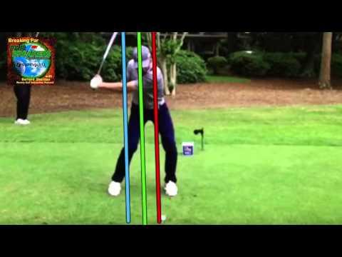 Jordan Spieth Face On Swing Analysis