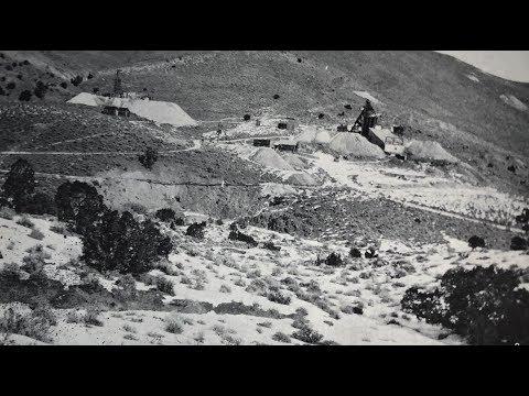 The Ramsey-Comstock Mine, Lyon County, Nevada.