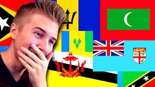 Trying to guess every flag in the world (and it goes horribly)