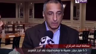 بالفيديو.. طارق عامر: 6.5 مليار دولار حصيلة ما جمعته البنوك المصرية