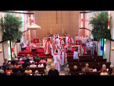 Ordination of Pastor Kearney