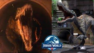Арена из фильма Мир Юрского периода 2 Павшее королевство Jurassic World Alive