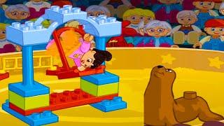 Игра Лего Цирк:Цирковое представление.Lego Duplo Circus - apps LEGO games for Kids(В город приехал цирк - и ваш ребенок добирается, чтобы запустить шоу. На какие только ухищрения не и идёт..., 2016-02-09T13:00:01.000Z)