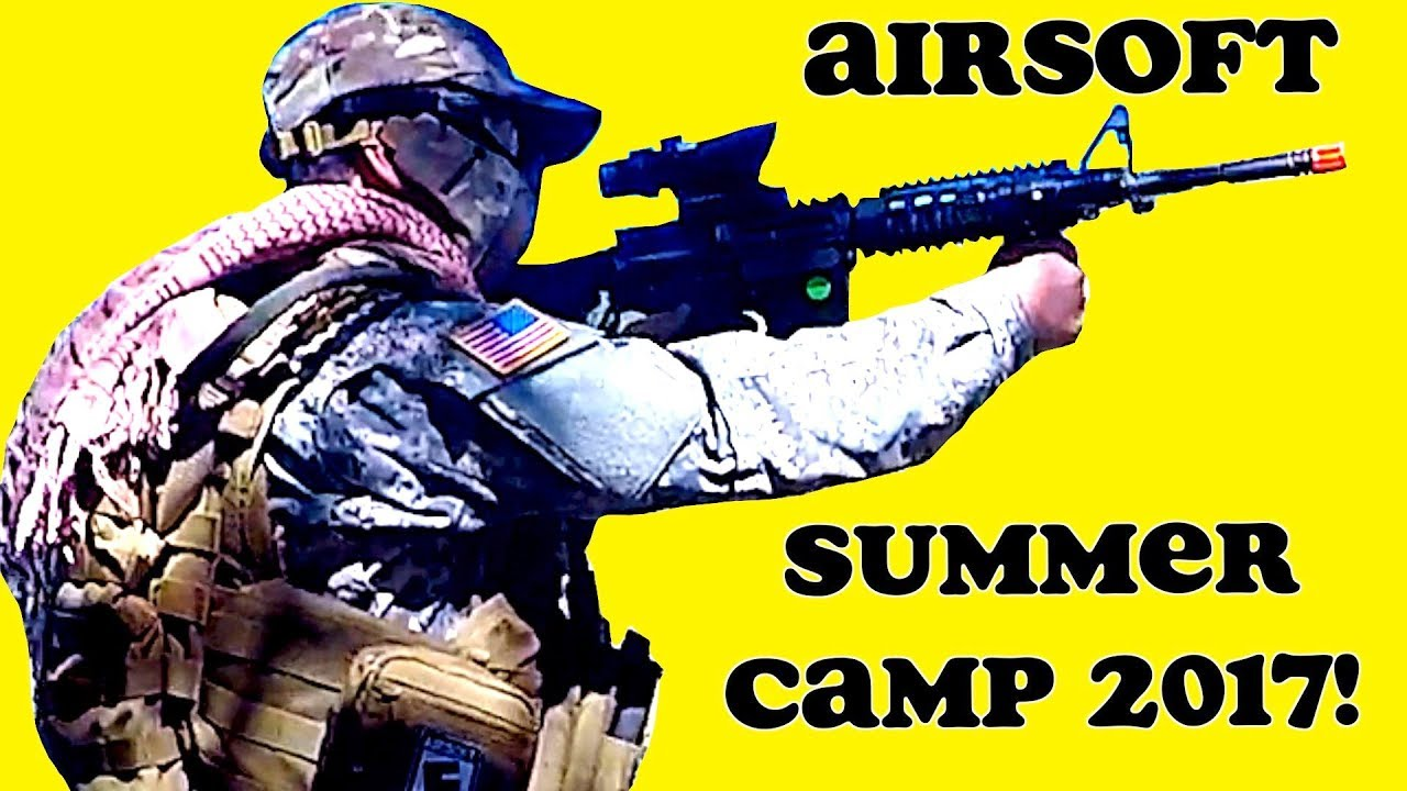 Airsoft Summer Camp with HappyFamily1004! - YouTube