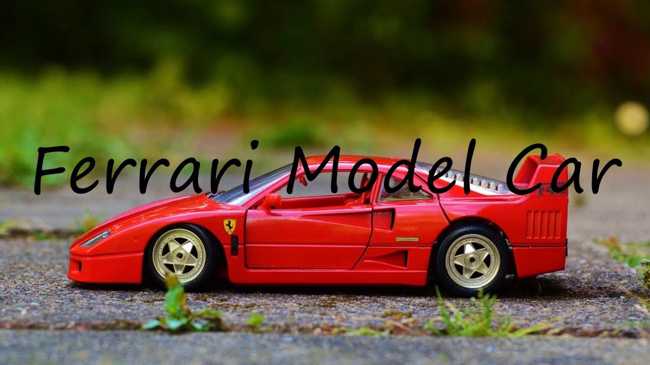How To Say Ferrari Model Car In English Youtube