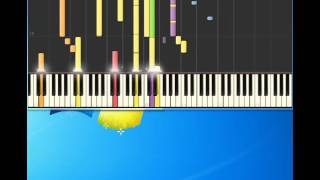 Take That   Babe [Piano tutorial by Synthesia]