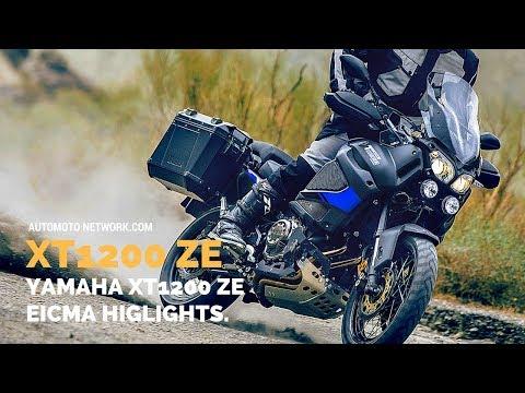 2018 Yamaha XT1200ZE Super Ténéré Raid Edition | Launch Highlights at EICMA 2017.