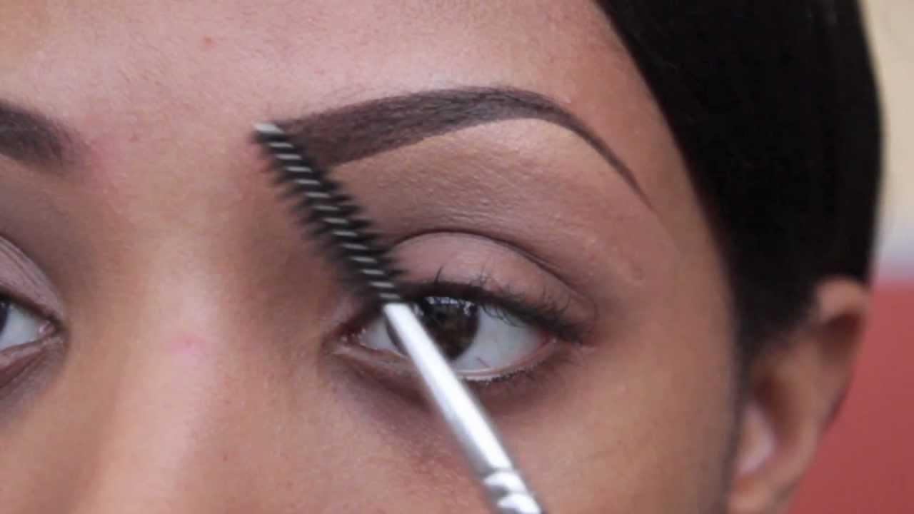 Tutorial How To Fill In Eyebrows 2013 Youtube
