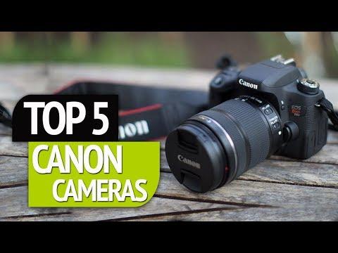 TOP 5: Canon Cameras