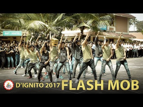 D'ignito Fest 2017 | Flash Mob | DiST Angamaly