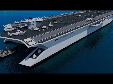Japan to build its first SUPERCARRIER the largest and most advanced in the world