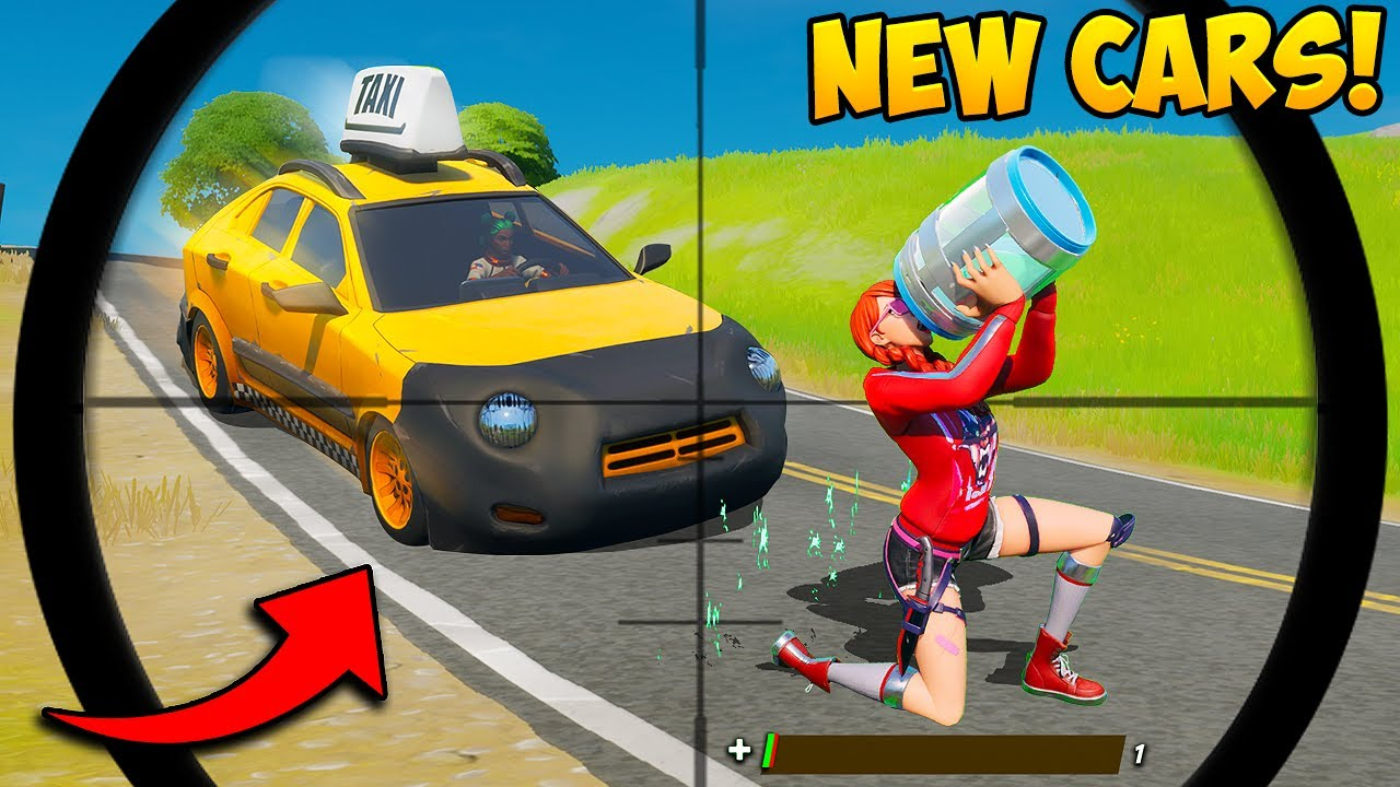 *NEW* FORTNITE CARS ARE AMAZING!! - Fortnite Funny Fails and BEST Moments! #996