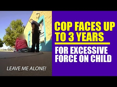 Police Officer Faces Up To 3 years In Prison For Excessive Force On Child