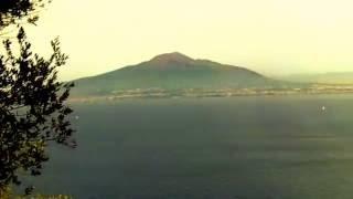 Mt  Vesuvius Near Naples, Italy