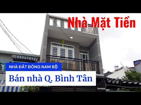 Chính chủ bán nhà Mặt tiền quận Bình Tân dưới 4 tỷ, Đường số 18D, Bình Hưng Hòa A