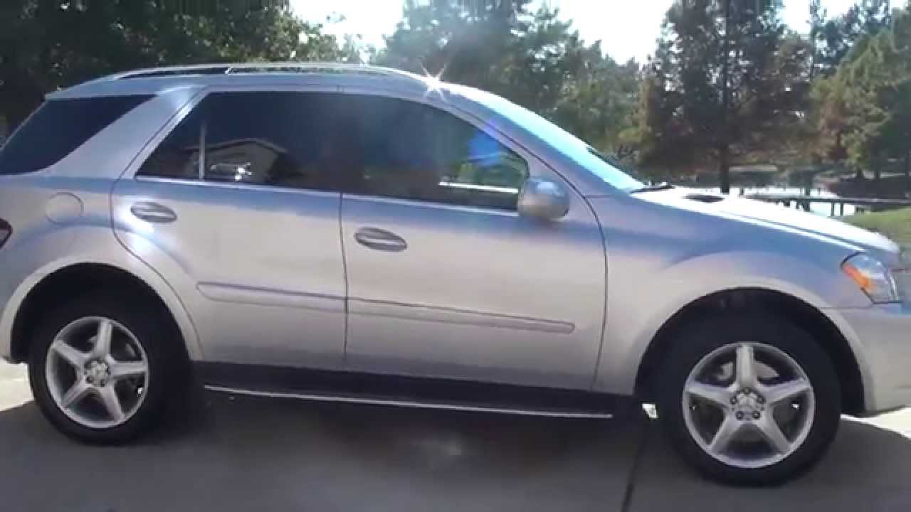 Hd Video 2009 Mercedes Ml550 Awd V8 For Suv See Www Sunsetmotors Com You