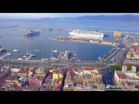 Cagliari, the capital city of Sardinia