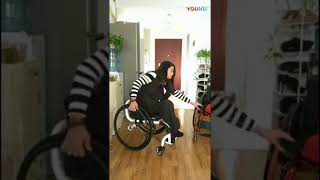 great wheelchair woman