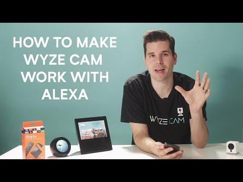 HOW TO USE WYZE CAM WITH ALEXA - YouTube