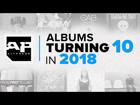 Albums Turning 10 in 2018: ALTPRESS COUNTDOWN