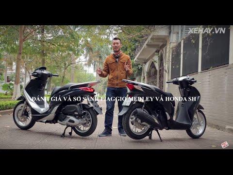 Photo of [XEHAY.VN] Đánh giá và so sánh Piaggio Medley và Honda SH – XE HAY