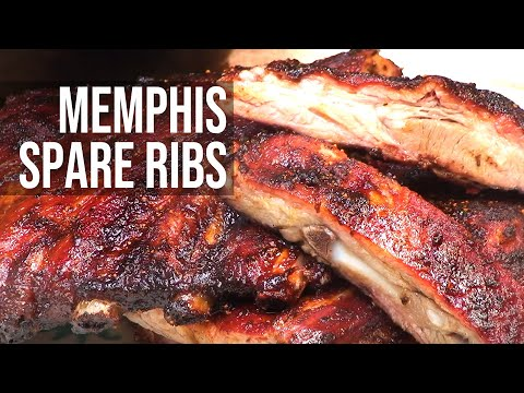 Memphis Spare Ribs recipe by the BBQ Pit Boys