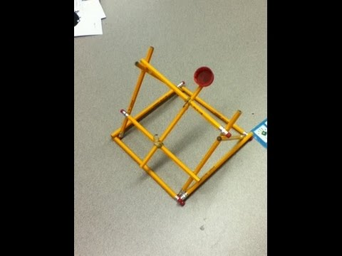 My pencil catapult and how to make it youtube for How do you make a blueprint