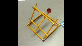 My Pencil Catapult and How to Make it