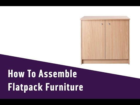 How To Assemble Flatpack Furniture