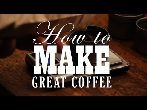 The Secret of How To Make Great Coffee with Workshop Coffee London