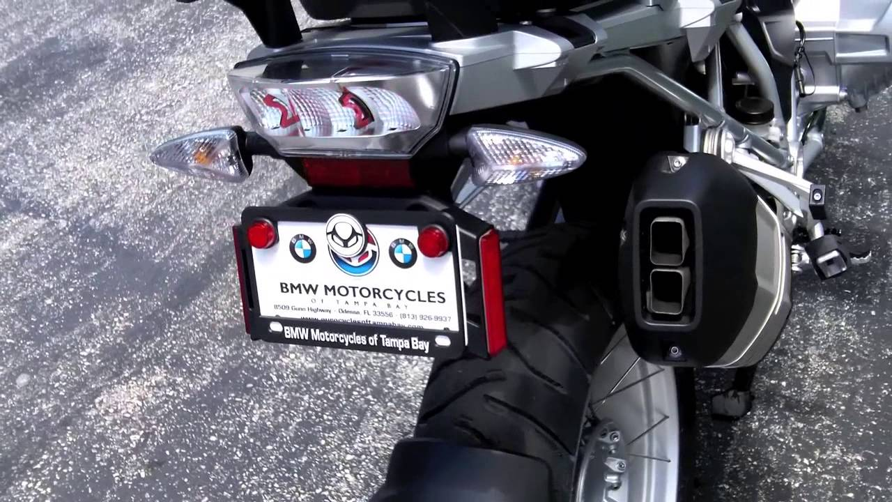 2014 bmw r1200gs alpine white at euro cycles of tampa bay - youtube