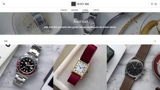 ThirtyOne, location de montres de luxe à courte durée