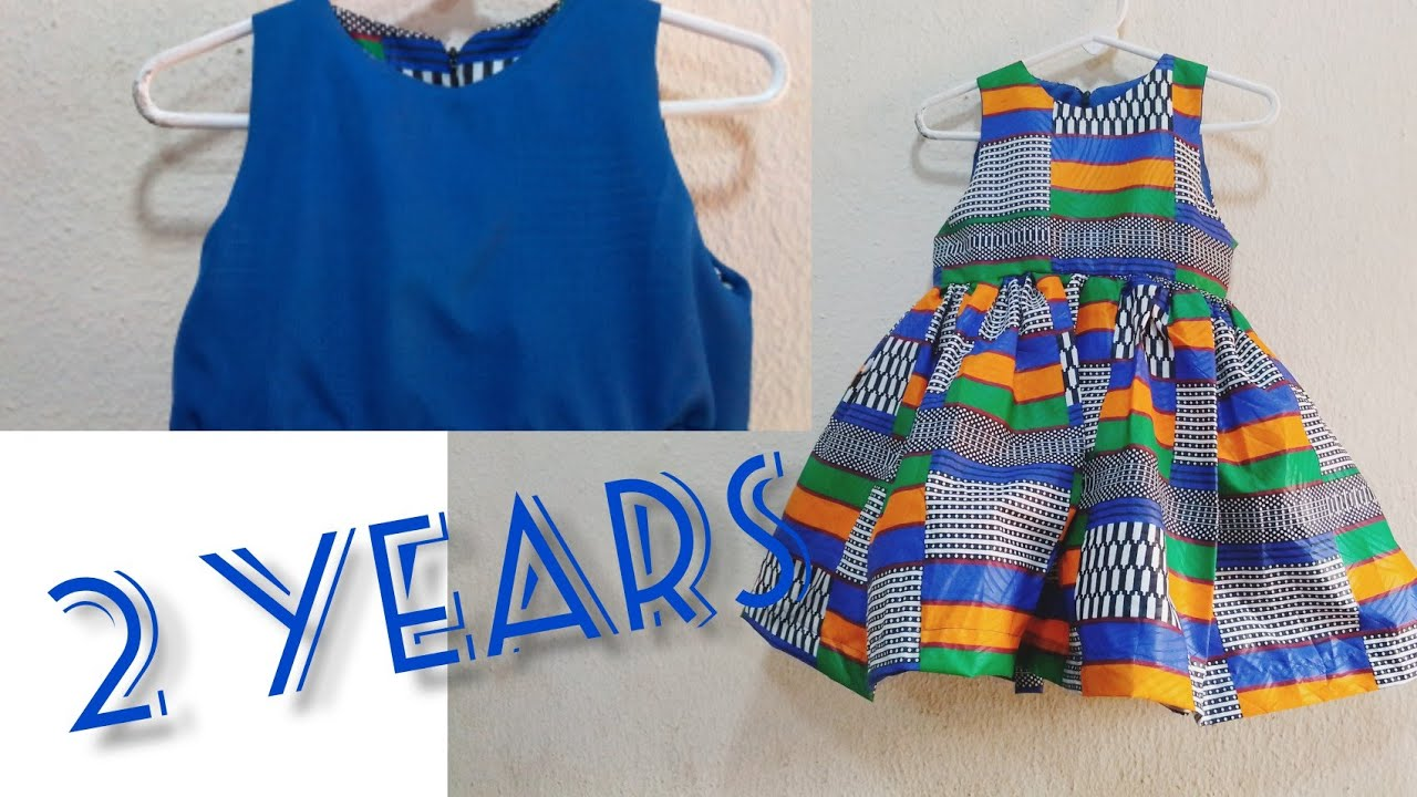 Download how to sew children dresses/how to sew ankara baby ball dress for 2 years child by lomzy part 1