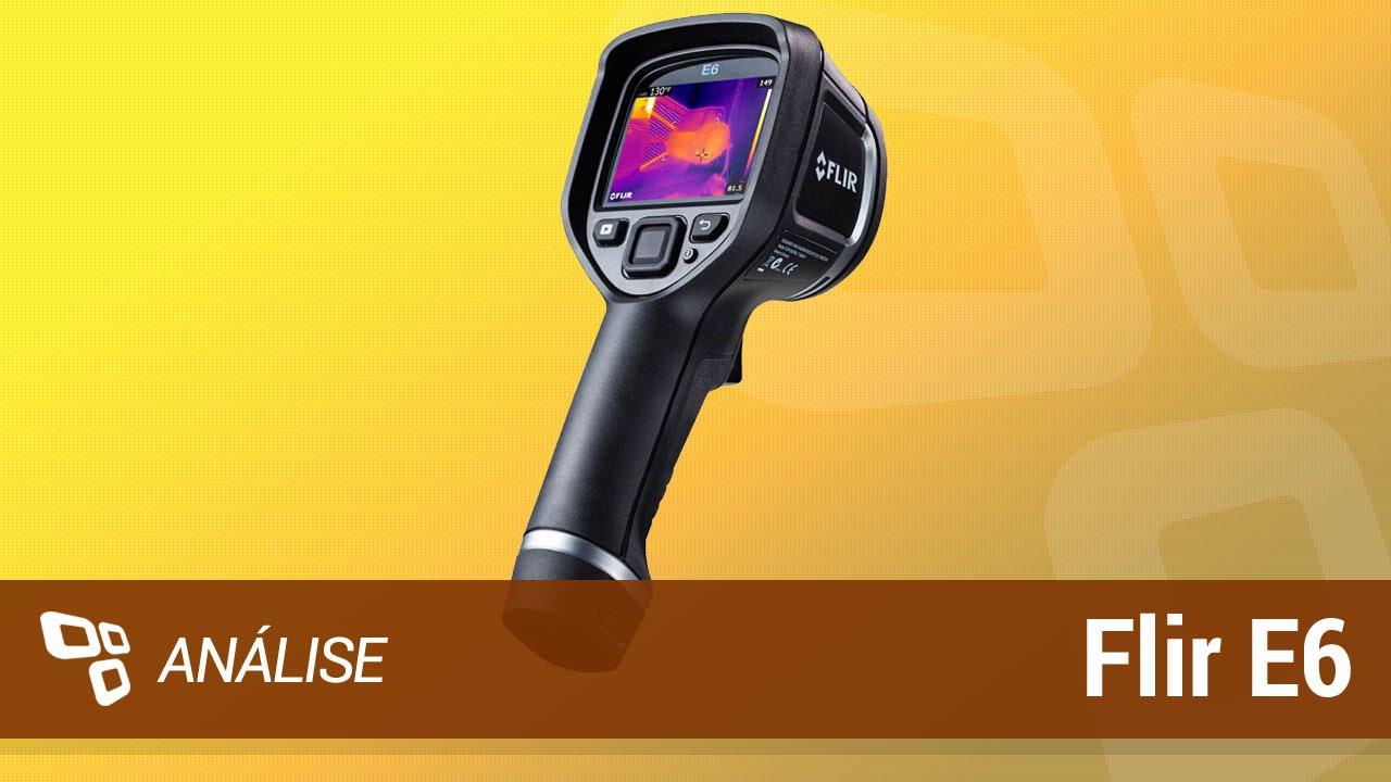 Veja como funciona uma câmera térmica (Flir E6) [Análise] – Tecmundo
