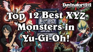 Top 12 Best XYZ Monsters in Yu-Gi-Oh!  (That Aren't Rank 4)