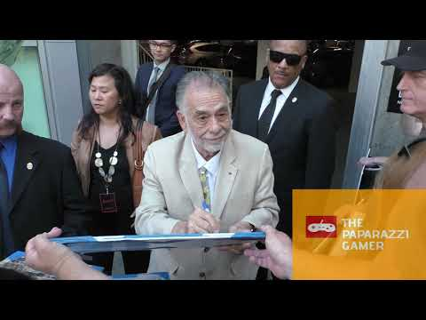 Francis Ford Coppola Greets Fans Outside The Premiere Of Apocalypse Now Final Cut