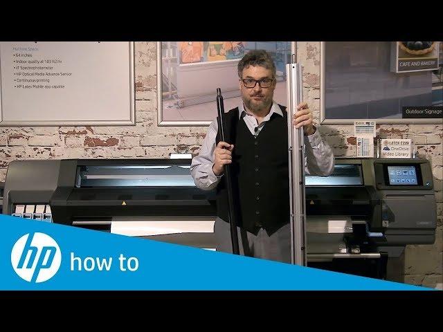 Jak dbać o szpulę - drukarki HP Latex