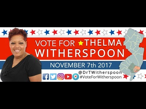 Atlantic County Needs A Voice - Vote for Thelma Witherspoon